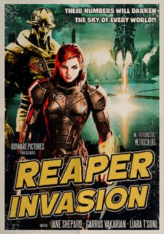 Mass Effect, B-Movie style