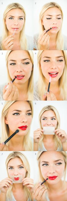 DIY Bright And Bold Red Lips, a timeless beauty trend.