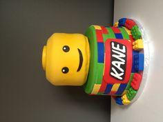 Lego Cake. Ohhh Dawson and legos lol:)