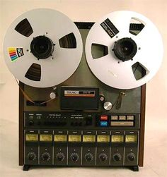 Teac Tascam 80-8 eight channel reel-to-reel tape recorder recorded at 15 ips onto 1/2-inch tape. When carefully operated by someone determined to get the best out of it, it could come close to the sound of higher-end 1-inch recorders. Used by Boston, Chicago, The Bee Gees, and Willie Nelson. It got an unfairly-deserved reputation for being a lesser quality recorder. Wrong! These recorders are wonderful when handled right.