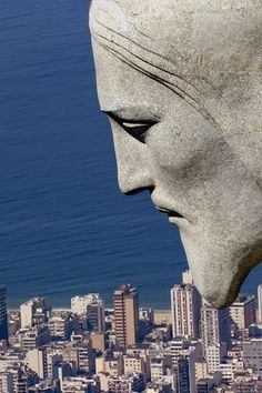 Cristo Redentor in Rio de Janeiro #Rio