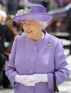 Queen Elizabeth II Photos: Queen Elizabeth II Visits The East Midlands