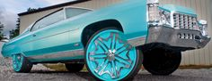 1971 Chevrolet Caprice coupe donk on 28 inch davin rims - Big Rims - Custom Wheels Chevrolet Caprice, Rims For Cars, Rims And Tires, Custom Wheels, Custom Cars, Bling Car Accessories, Donk Cars, Truck Rims, Old School Cars
