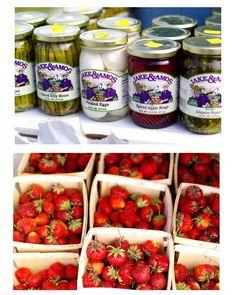 Quad Cities Farmer's Market strawberry