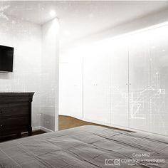 CORFONE+PARTNERS - Interior design Bedroom - MN2 HOUSE