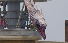 PotterWatch: Gringotts Dragon Arrives and Opening Date Rumors - TouringPlans.com Blog | TouringPlans.com Blog