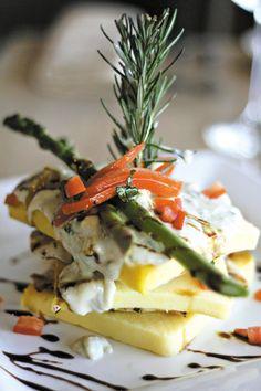 Scaloppini di Pollo con Scamorza from Cassariano Italian Eatery. Located in Historic Downtown, Venice, Florida.