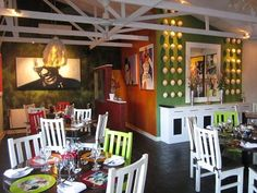 Yum Yum Restaurant's funky décor and fabulous, fresh fusion food have perked up dining in the subtropical town of Tzaneen. Funky Decor, Farm Pictures, Fusion Food, Holiday Destinations, Restaurant, Dining, Yum Yum, Fresh, Image