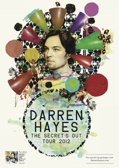 I am very excited to be seeing Darren twice in concert later in the year - bring it on!!