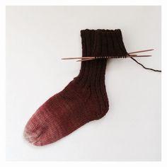https://flic.kr/p/x1ptqf | Wool Socks | Hand Dyed Wool
