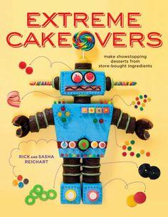 One Orange Giraffe: Robot Cake and a Birthday! http://1orangegiraffe.blogspot.com/search/label/Cakes