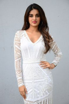 Nidhhi Agerwal stills at Mr. South Indian Actress Nidhhi Agerwal latest stills at Mr Majnu movie interview. Bollywood Actress Hot Photos, Bollywood Girls, Beautiful Bollywood Actress, Most Beautiful Indian Actress, Bollywood Fashion, Beautiful Actresses, Bollywood Celebrities, Nidhi Agarwal, Hottest Female Celebrities