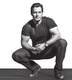 NEW AGAIN: Henry Cavill for Men's Fitness September 2016 Henry Cavill once again shows off his newly buffed up Justice League physique on the cover - bigger biceps, bigger pecs,. Henry Caville, Love Henry, Hot Men, Sexy Men, Man Of Steel, Henry Williams, Outfits Casual, Hommes Sexy, Man Candy