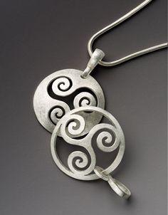 Pierced Spiral Pendants - Revere Academy of Jewelry Arts