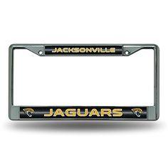 """License Plate Jacksonville Jaguars Black Background Design on 6"""" x ..."""