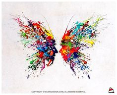 #Butterfly #FacetoFace #Graffiti #Design / 2012
