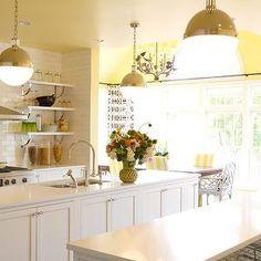 Alisha Gwen - kitchens - dual kitchen islands, two kitchen islands, white cabinets, white kitchen cabinets, white inset cabinets, inset shak...
