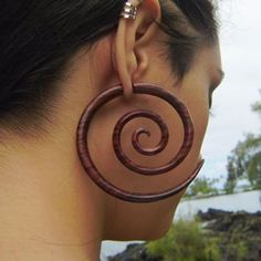 Large Sono Wood Spirals