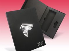 Atlanta Falcons Executive Director Suite Hospitality Presentation Box - a creative packaging solution produced by Cedar Packaging