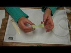 Tips & Techniques Tuesday is showing you how to make bows using the envelope punch board. To order Stampin' Up! products you can go to http://marytrautner.st...
