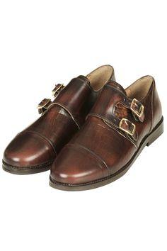 KONK Monk Loafer Shoes topshop