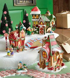 North Pole Series by Department 56 - Inspired by this magic, charming legend, our porcelain North Pole Series buildings and accessories bring Christmas dreams to life for the young and young at heart.  Shop 24/7 http://shop.department56.com/c/villages_north-pole-village