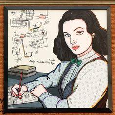 HEDY LAMARR Hedy Lamarr, Anime, Urban Art, Cartoon Movies, Anime Music, Animation, Anime Shows