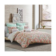 Under the Canopy Margaret Comforter Set  sc 1 st  Pinterest & Haute Girls Safari Reversible Comforter Set in White - www ...