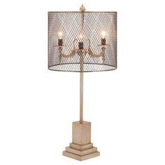 Metropolitan Metal Table Lamp #laylagrayce