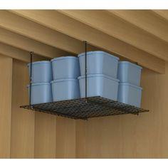 D Ceiling Storage Unit In Black