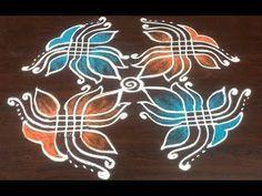Latest Dhanurmasam muggulu || Creative Padi Kolam || Beautiful Margzhi special muggulu - YouTube Indian Rangoli Designs, Rangoli Designs Latest, Simple Rangoli Designs Images, Rangoli Designs Flower, Rangoli Border Designs, Rangoli Ideas, Rangoli Designs With Dots, Beautiful Rangoli Designs, Flower Rangoli