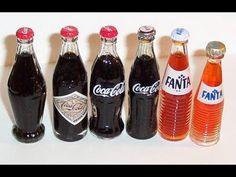 DIY Miniature Coca-Cola Bottle ~ Soda Bottle - YouTube