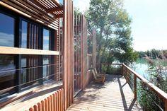 Fig.7 Atelier Lavit, Eco-hotel, Lac de la Lionne, France, 2017