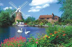 Windmill 1000 Pcs Panoramic Photo Puzzle Gorgeous Puzzle