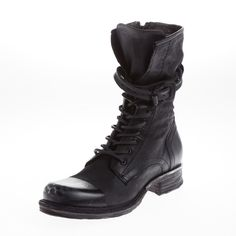 #as98 #boots #leather #shoelace #buckle