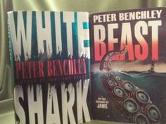 Peter Benchley Beast And White Shark