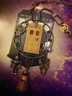 Steampunk Tendencies | Steampunk Dr Who necklace by Lunar Clockwork  https://www.facebook.com/photo.php?fbid=512262782211009