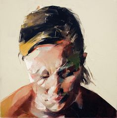 Abstract portraits by Simon Birch