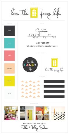 Wordpress Design and Process by The Blog Salon | Design for livethefancylife.com