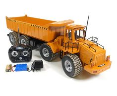 Electric Dump Truck 1:10 Scale RTR RC Construction Vehicle