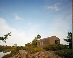 Find This Pin And More On Cottage Extension . Floating House Over Lake Huron  U2013 Sustainable Architecture ...