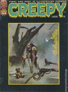 Creepy Comics Covers | Creepy (1964 Magazine) comic books