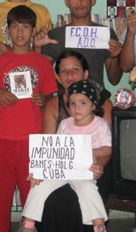 The intolerance of a dictatorship leaves its marks on a child in Banes, Holguin CUBA