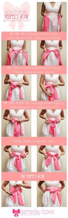 Tie the perfect bow around your belly. | 31 DIY Projects That Will Make Pregnancy So Much Easier
