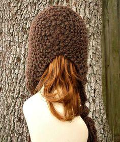 Knitting Pattern - Knit Hat Knitting Pattern PDF for Tassel Hat - Fall Fashion Autumn Fashion Autumn Accessories. $5.00, via Etsy.