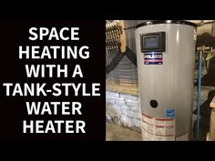 The right kind of tank-style water heater makes a great source of heat for any kind of hot water space heating system. Simple, economical, easy to maintain a. Radiant Heaters, Hydronic Heating, Heating And Plumbing, Radiant Floor, Water Heating, Heat Pump, Heating Systems, Water Tank, Flooring