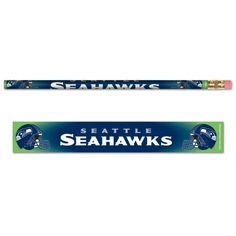 Seattle Seahawks Pencils - Pack of Six (6)