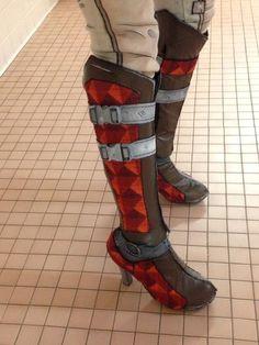 Tales from the Borderlands Fiona Boots by LABINNAK.deviantart.com on @DeviantArt