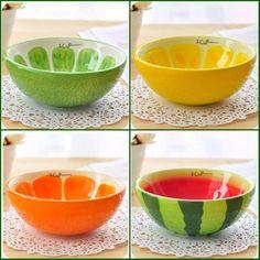 Hand Painted Ceramic Bowl Rice Fruit Cute Bowl CJ180 | eBay