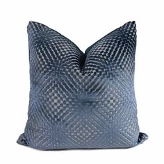 Aloriam Pillows offers a large range of blue throw pillow covers in designer fabrics for your home. Made in USA. Navy Blue Throw Pillows, Blue Pillow Covers, Pillow Cover Design, Cushion Covers, Burlap Pillows, Velvet Pillows, Owl Pillows, Diamond Design, Fabric Samples